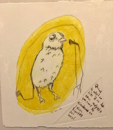 Mélanie DUCHAUSSOY  - 'oiseau  ...