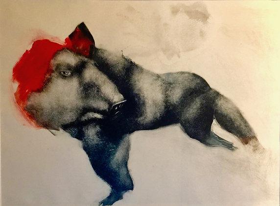 Mélanie DUCHAUSSOY  - 'le sanglier rouge'