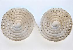 double spirale  58 x 78 cm