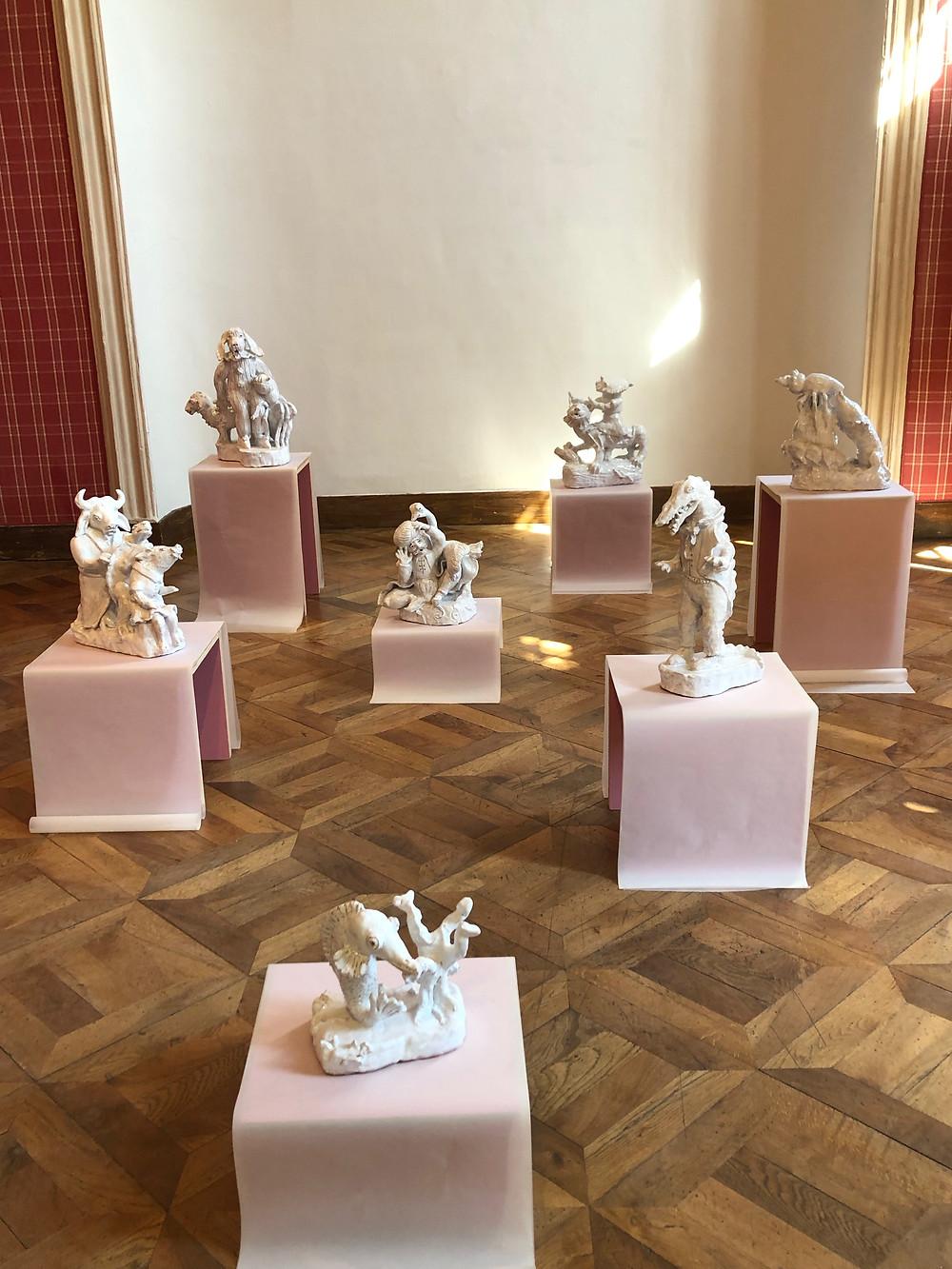 Ensemble céramiques Marie Ducaté