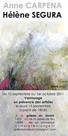 Invitation H SEGURA 2011