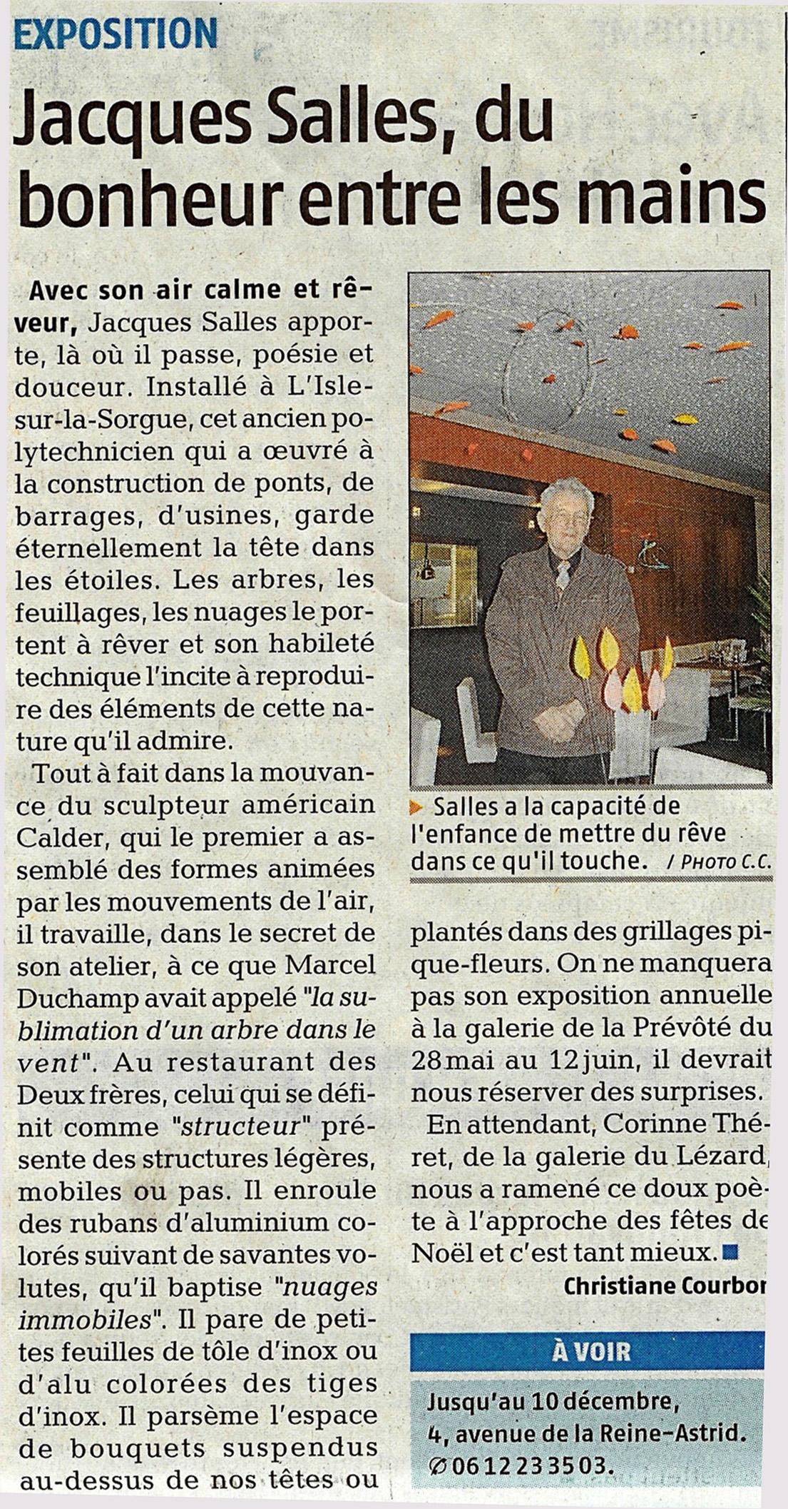 2008 novembre Jacques Salles
