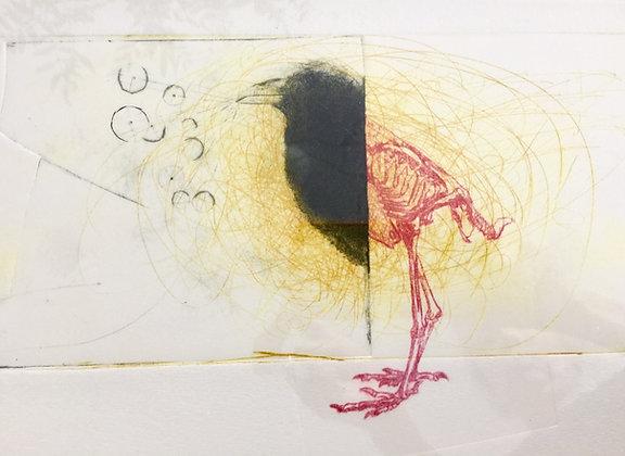 Mélanie DUCHAUSSOY  - 'oiseau  ... squelette '