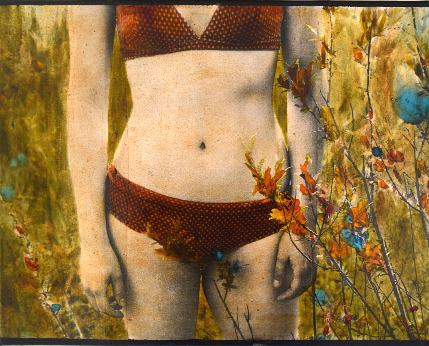the swimsuit 40x50cm - copie