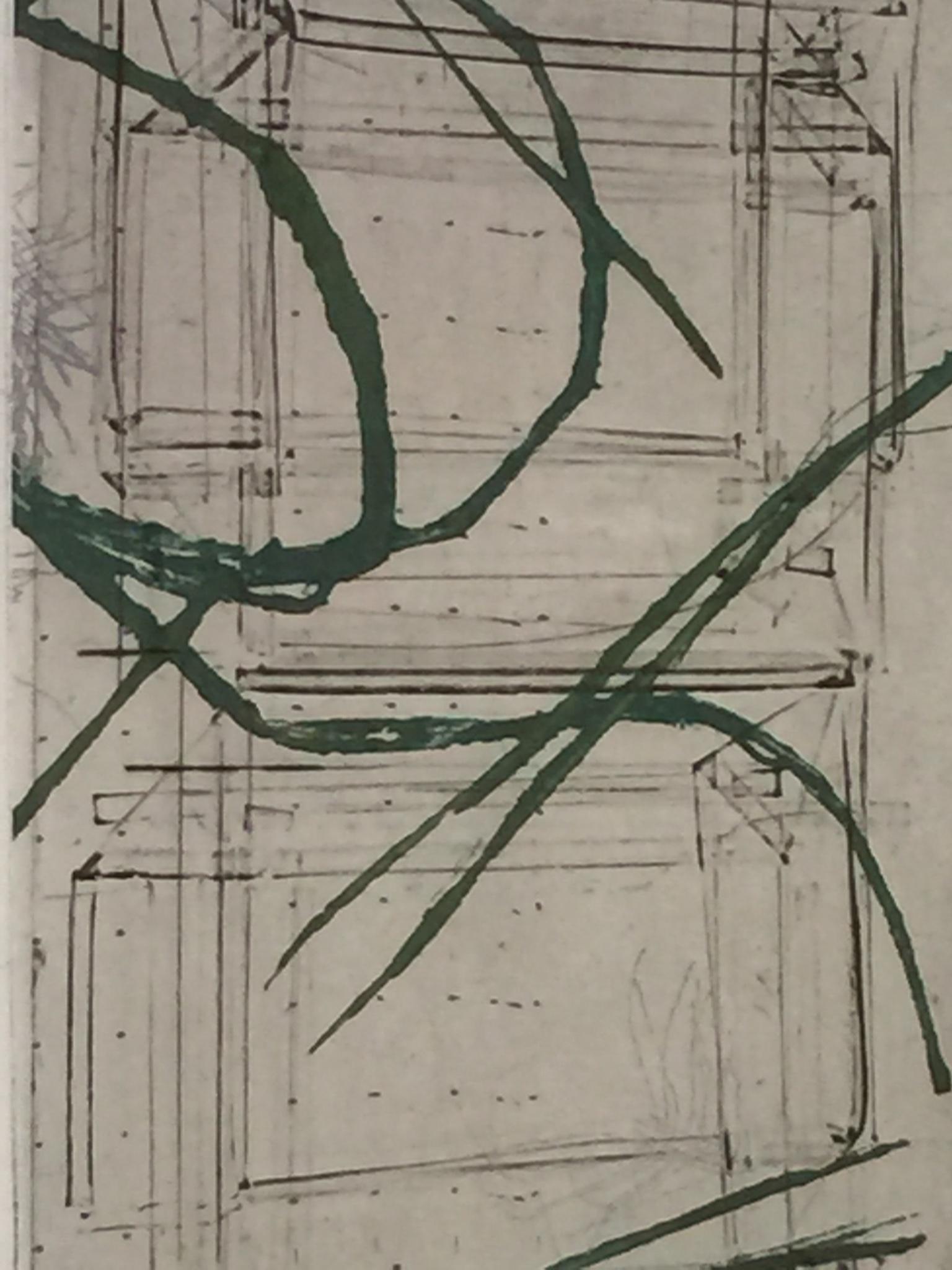 Gravure Sophie de Garam (détail)