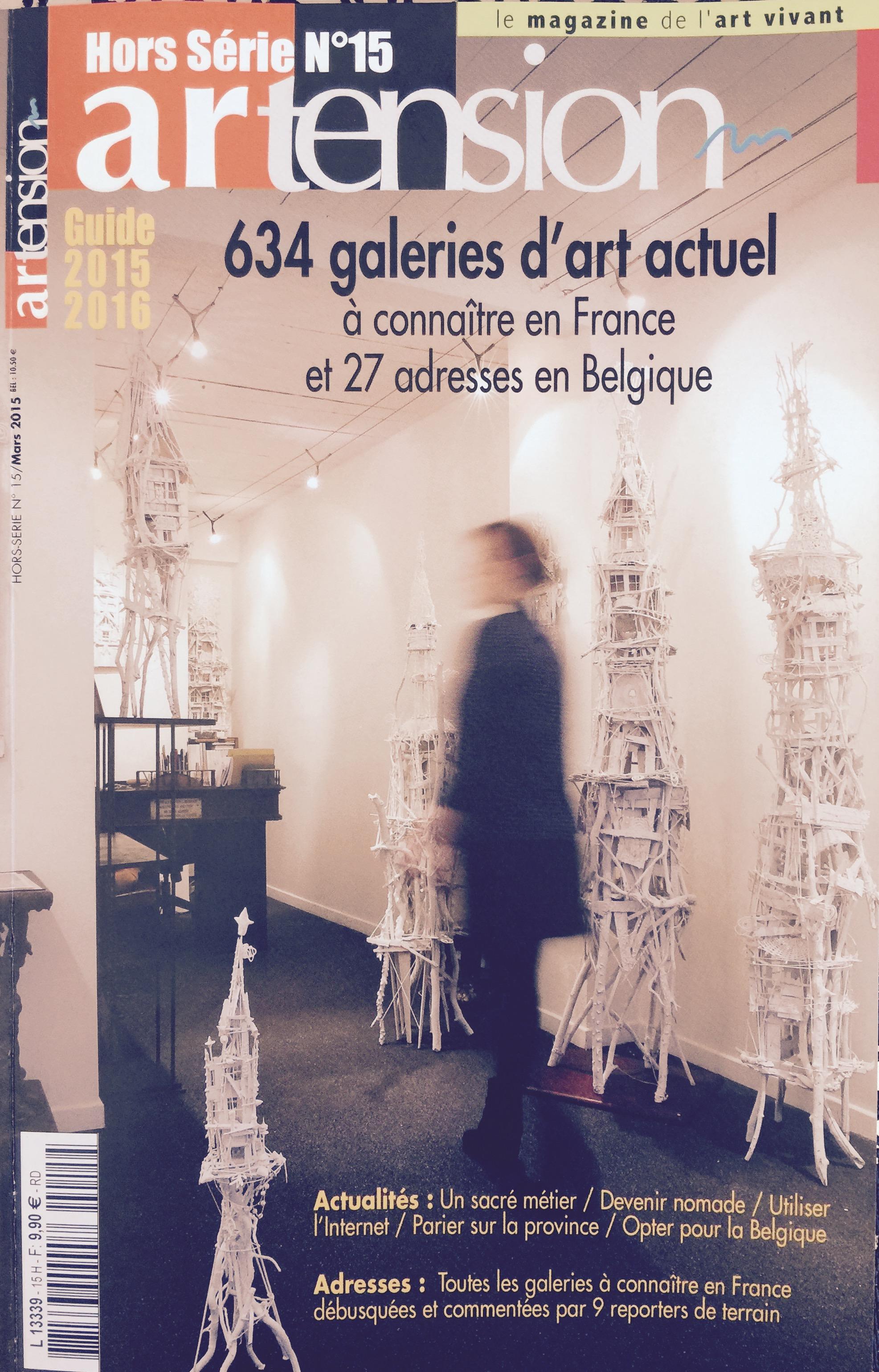 artension galeries  2015