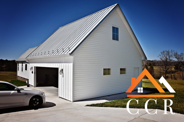 CCR Standing Seam Galvalume Metal Roof with Ice Breakers