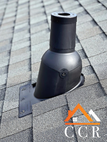 Pipe Boot and Architectural Asphalt