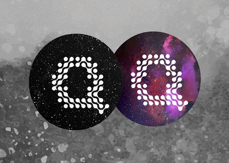 Black + Purple Quilly - عرض القطعتين
