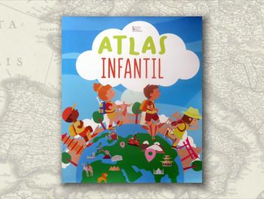"""""""Atlas Infantil"""", de Coleção Tomate e Tangerina"""