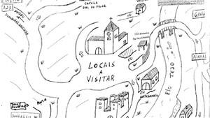 Mas que belo mapa de Belver