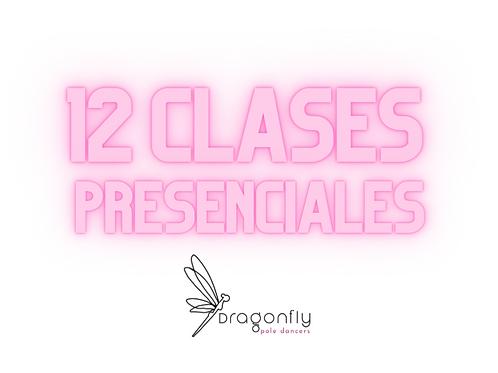 12 Clases Presenciales