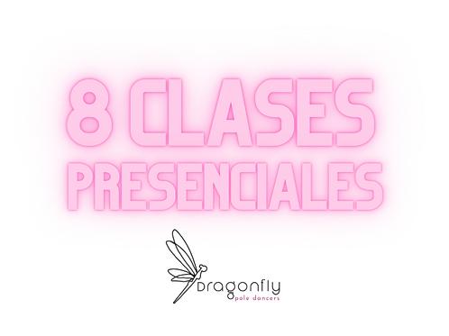8 Clases Presenciales