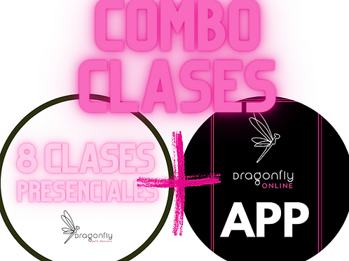 8 clases presenciales+ Suscripción Mensual App