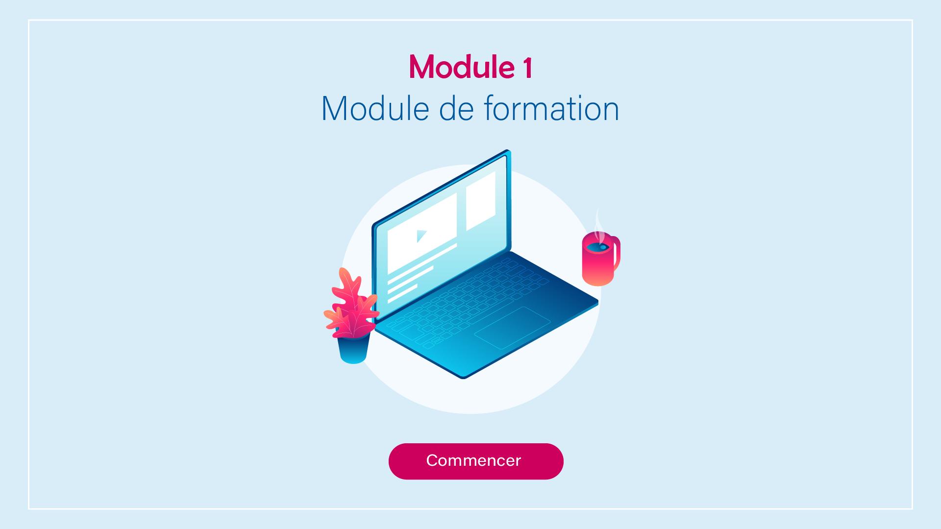 module e-elearning illustré 1