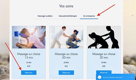 Massagesur chaise en entreprise - Montréal - Laval - Longueuil