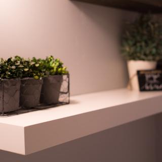 Modern Mitered Shelf
