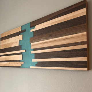 Resin x Hardwood Wall Art