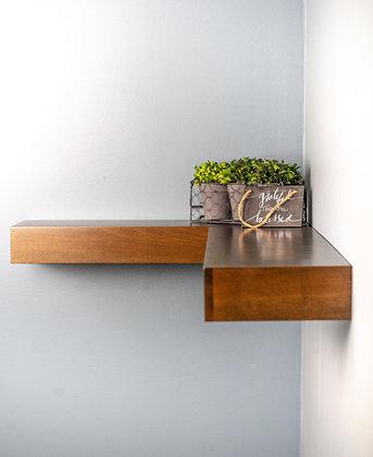 Modern Corner Shelf / Floating / Contemporary Look