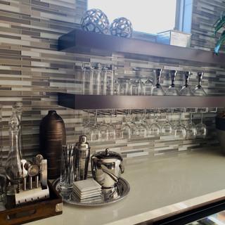 Modern Maple Floating Shelf Painted