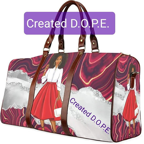 Red & White Carry Bag (small)