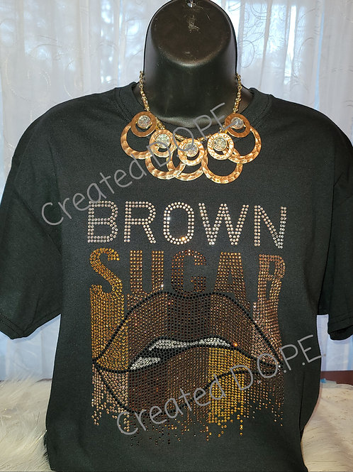 Brown Sugar Rhinestone