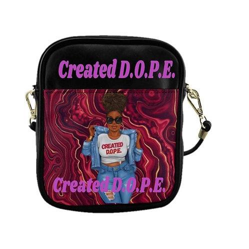 Created D.O.P.E. Sling Purse