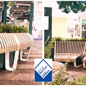 Stay Green and Modular with Green Furniture Concept Seamless Seating