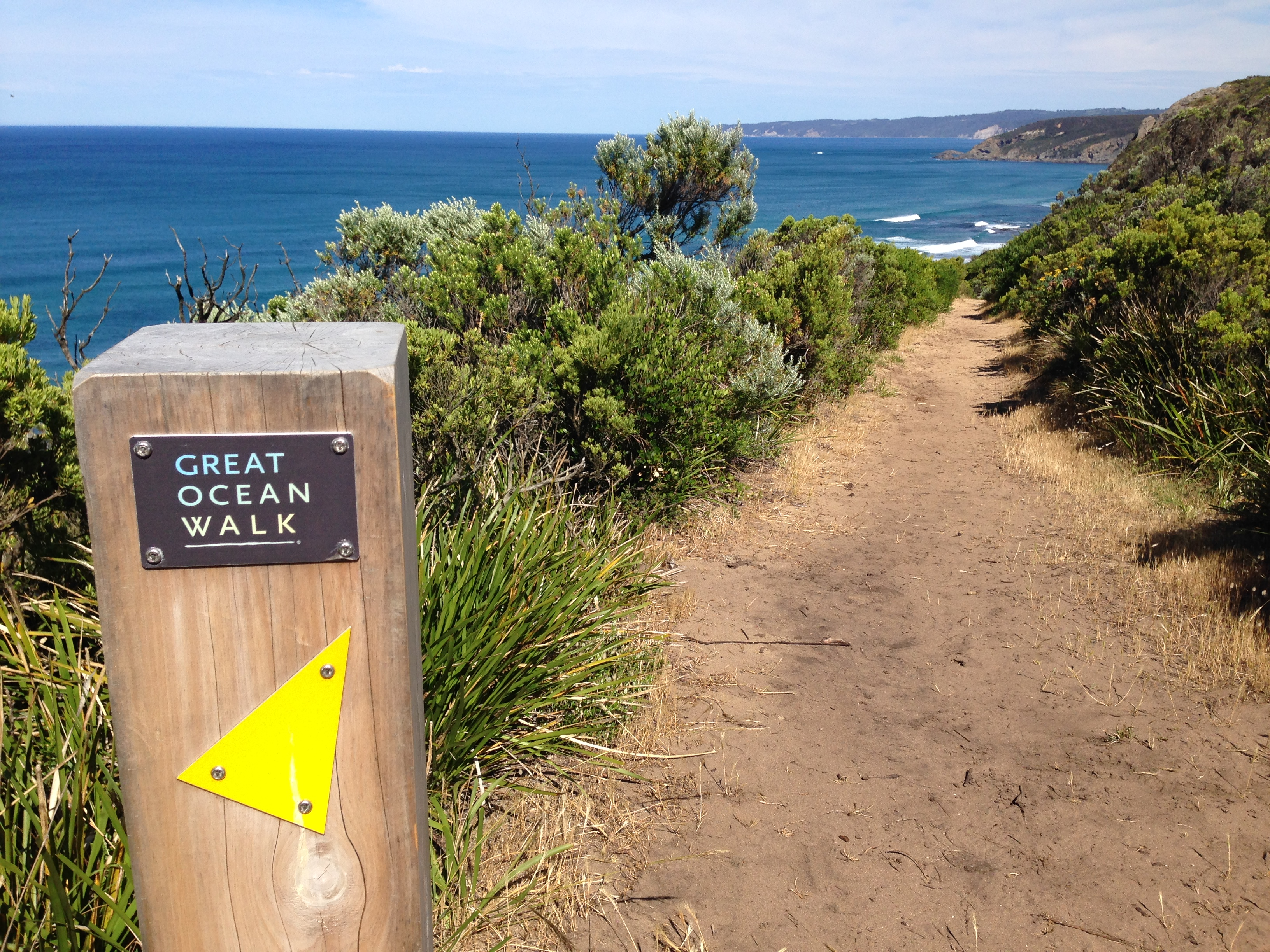 Great Ocean Walk Marker