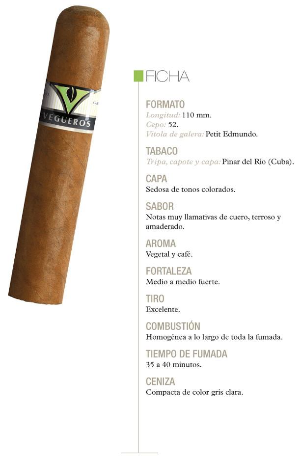 Ficha descriptiva de los Vegueros petit edmundo
