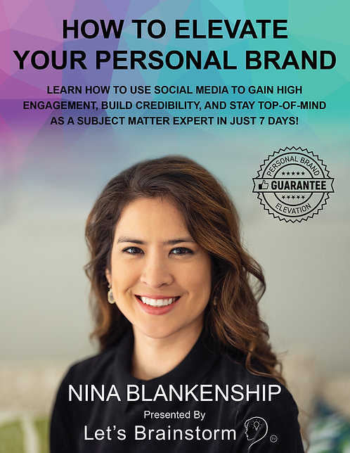 How to Elevate Your Personal Brand in 7 Days™ - eBook