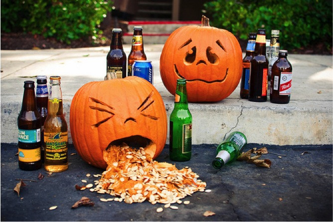 No need to puke this Halloween, Here are tips for a Sober October