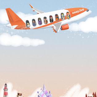 Easy Jet Ad