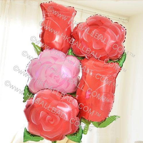 18寸玫瑰花 (粉紅及紅)