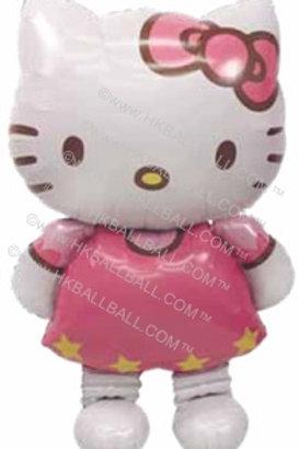 Hello Kitty AirWalker 粉紅站立
