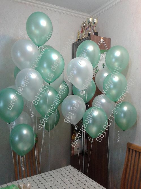 "10/12""珠光氣球(II)"