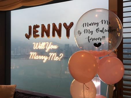 女主角最愛💕粉紅色, 所以客人無論花瓣, 氣球(啞色粉紅)都係粉紅系列, 而我至印像深刻, 當然係客人早有準備20張超SWEET PHOTOS, 考下大家眼力👀啦!  #求婚大作戰#求婚策劃