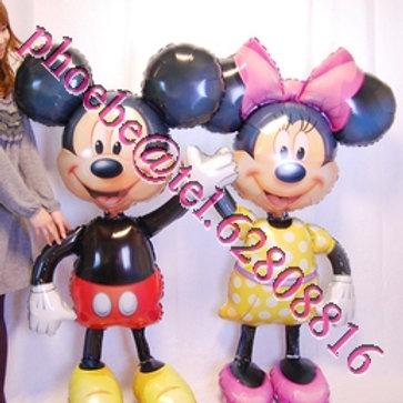 Micky Mouse 站立氣球