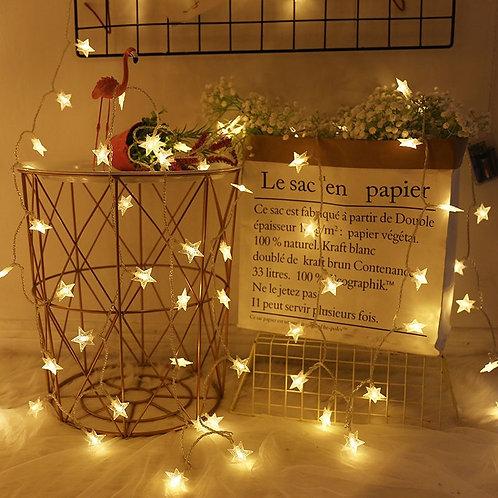 星星燈串 星形燈串 星星燈