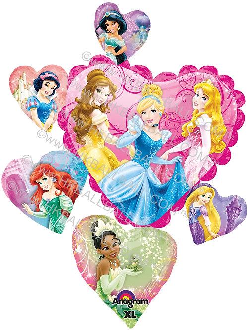 心連心公主氣球