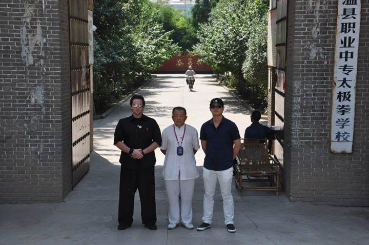Master John Duval - Grand Master Chen - Master Frank Rao