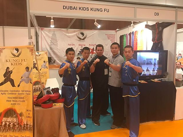 Successful exhibition at the World Trade Center from our Golden Eagle Team