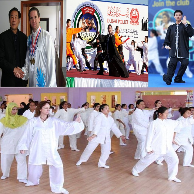 DUBAI TAI CHI MASTERS__13TH Generation Inheritors and Successors of Tai Chi_Grand Master Wang Xi An