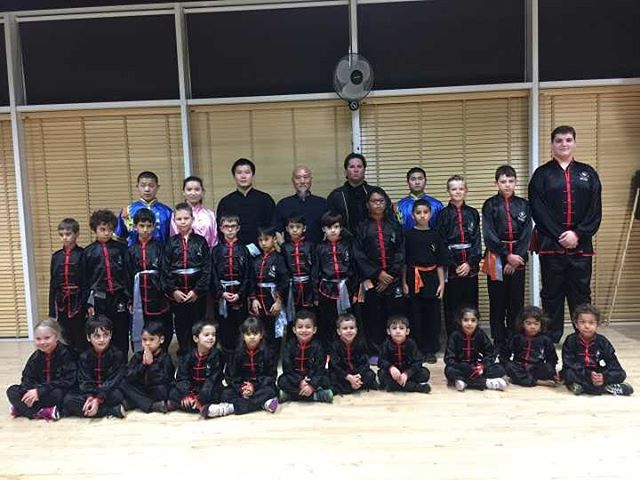 Another surprise visit to by Grand Master Yan for our students at Studio City Optimal Fitness Gym