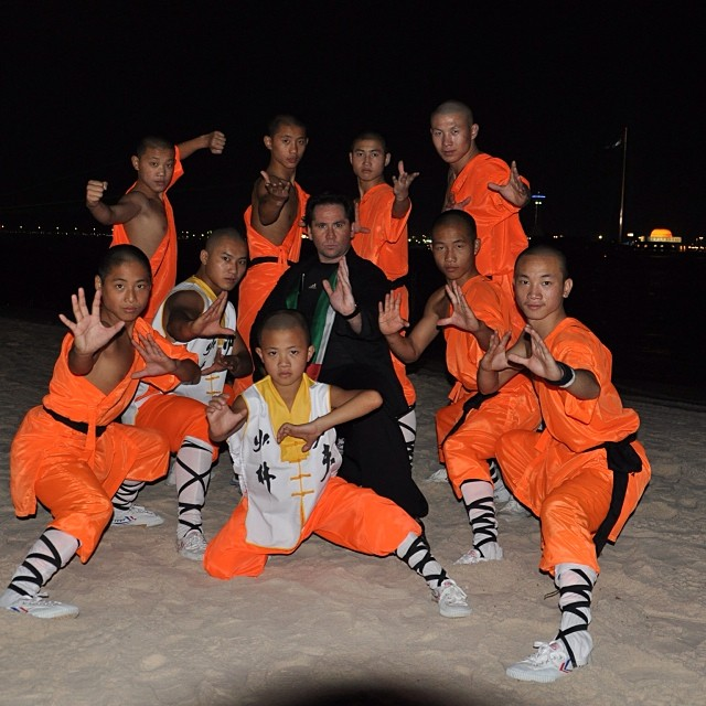 Shaolin performance team in Abu Dhabi 42 national day corniche event. Www.shaolinperformanceteam