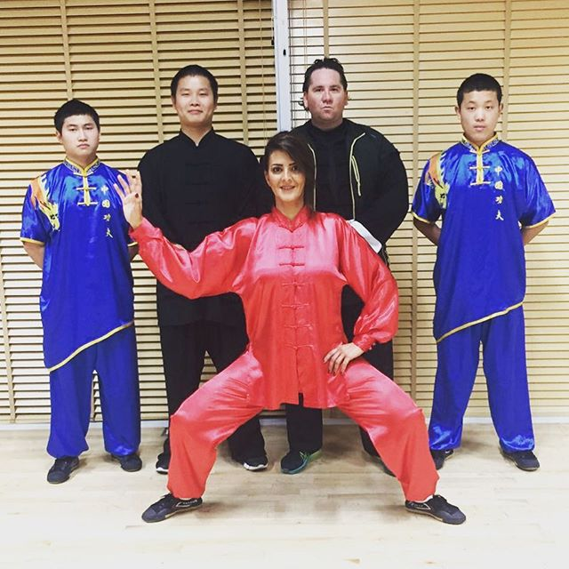 Our student Samia leaving tonight to Hong Kong for the Tai Chi Championship