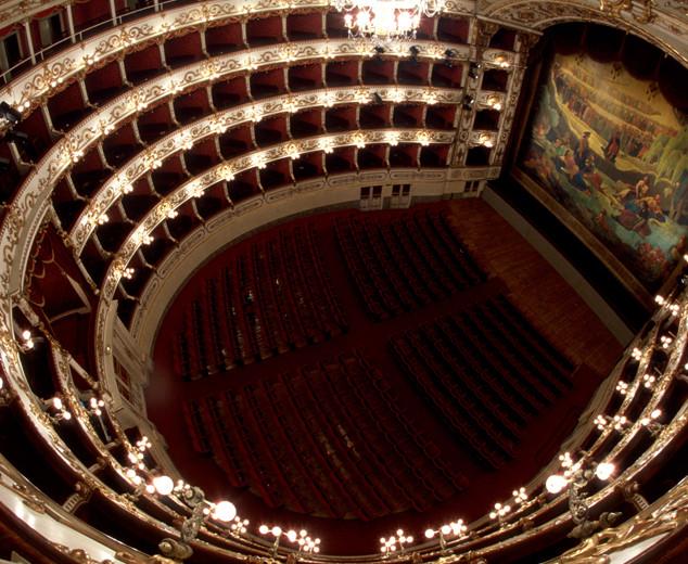 Théâtre Politeama, Trieste (Italie)