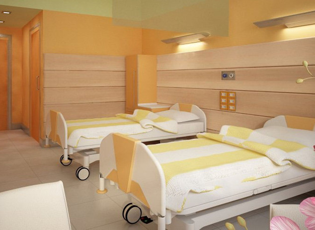 Hôpital, Milan (Italie)
