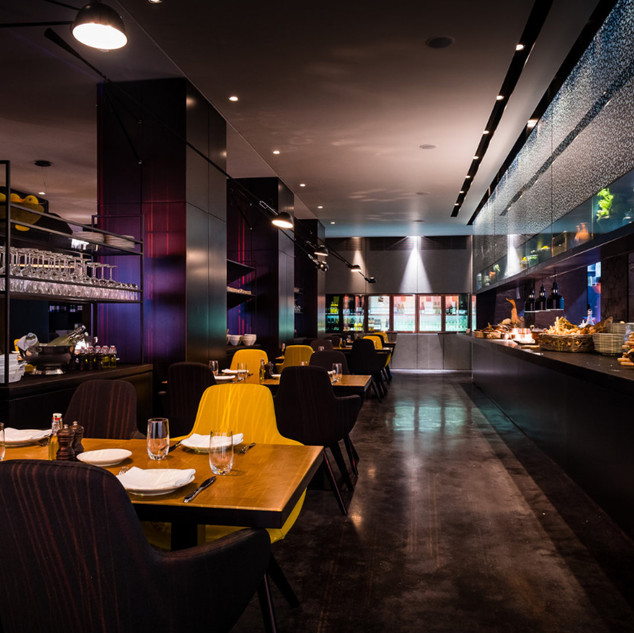 Restaurant, Amsterdam (Hollande)