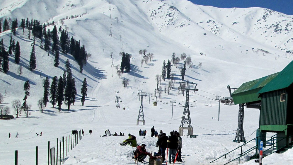 Gumarg Gondola ride | Ropeway in Kashmir | Cable Car in Gulmarg | Ski resorts in Kashmir